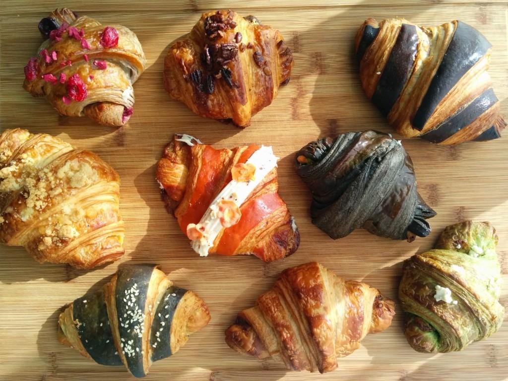 croissant Sunday flavours