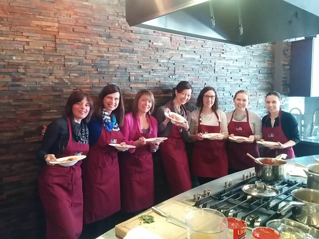 group of culinary dietitians