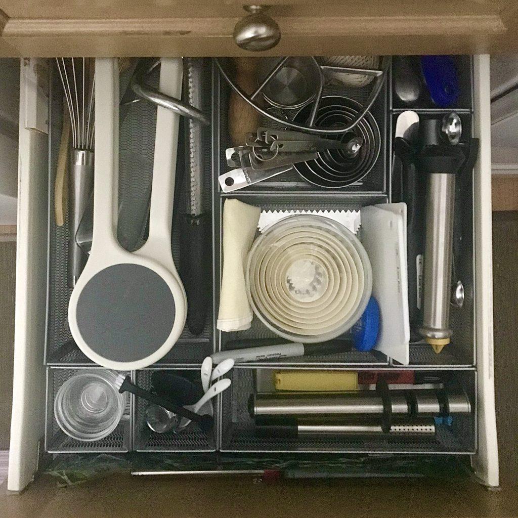kitchen equipment drawer