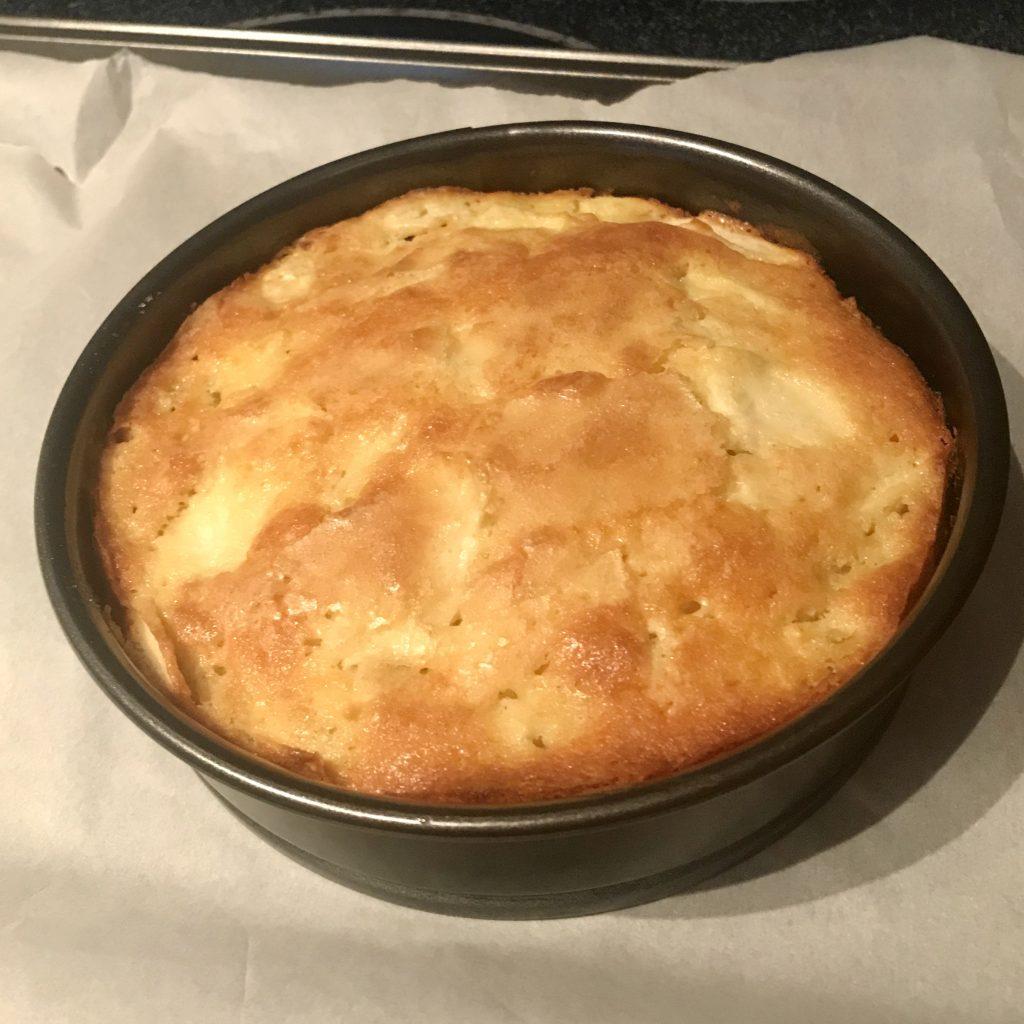 apple cake baked